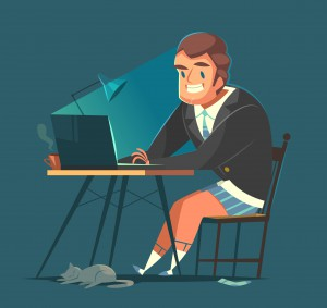 Businessman_working_from_home