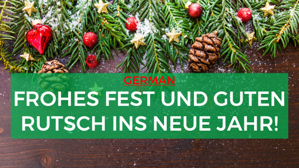 how to say merry christmas and happy new - Merry Christmas In German How To Say