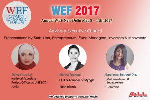 Entrepreneurship banner WEF