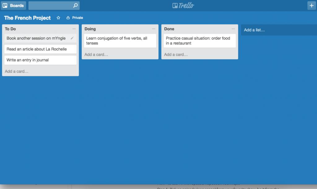 Trello Board_task